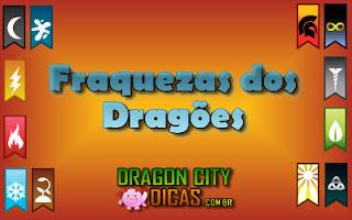 Fraquezas dos Dragões