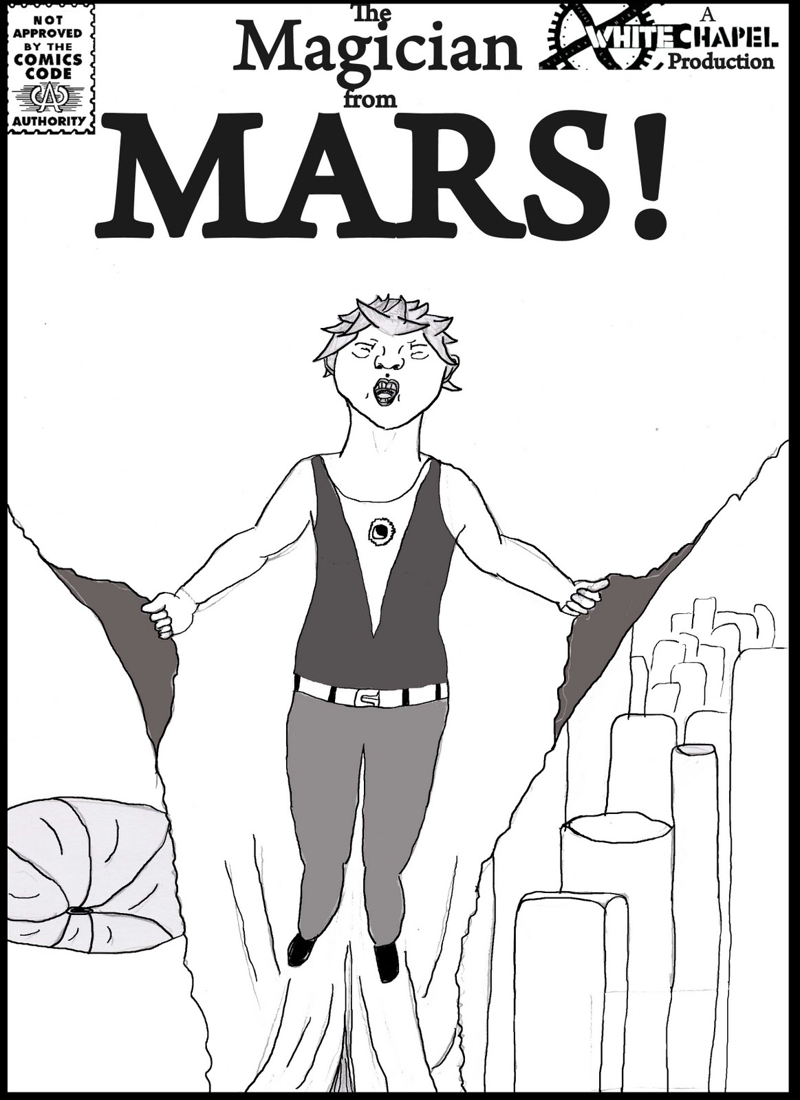 Magician from Mars, by Jamie