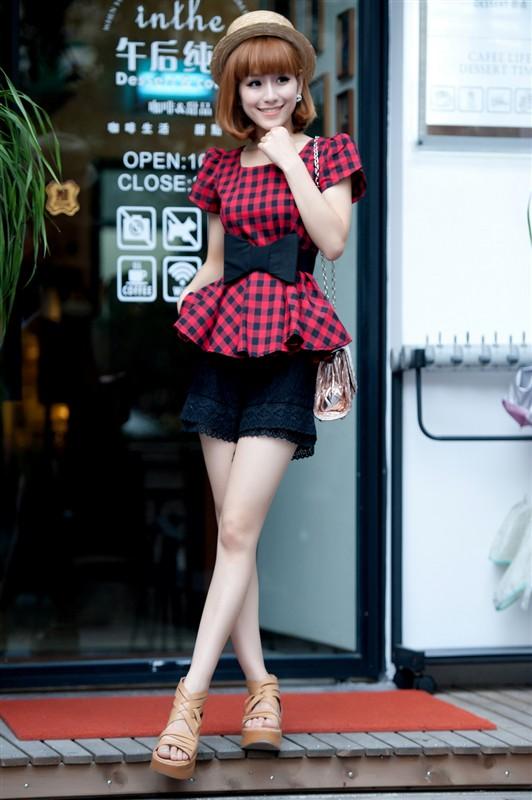 Model Rok Mini Korea / Celana Pendek Trendi