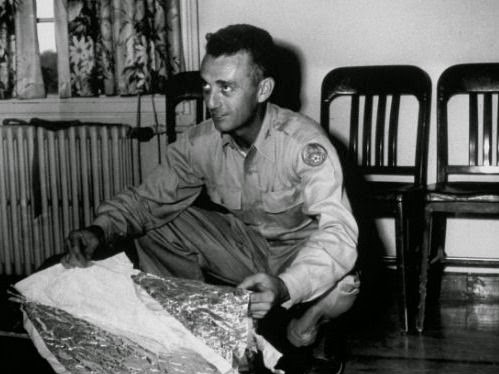 Major Jesse A. Marcel - head intelligence officer of 509th Bombing Group