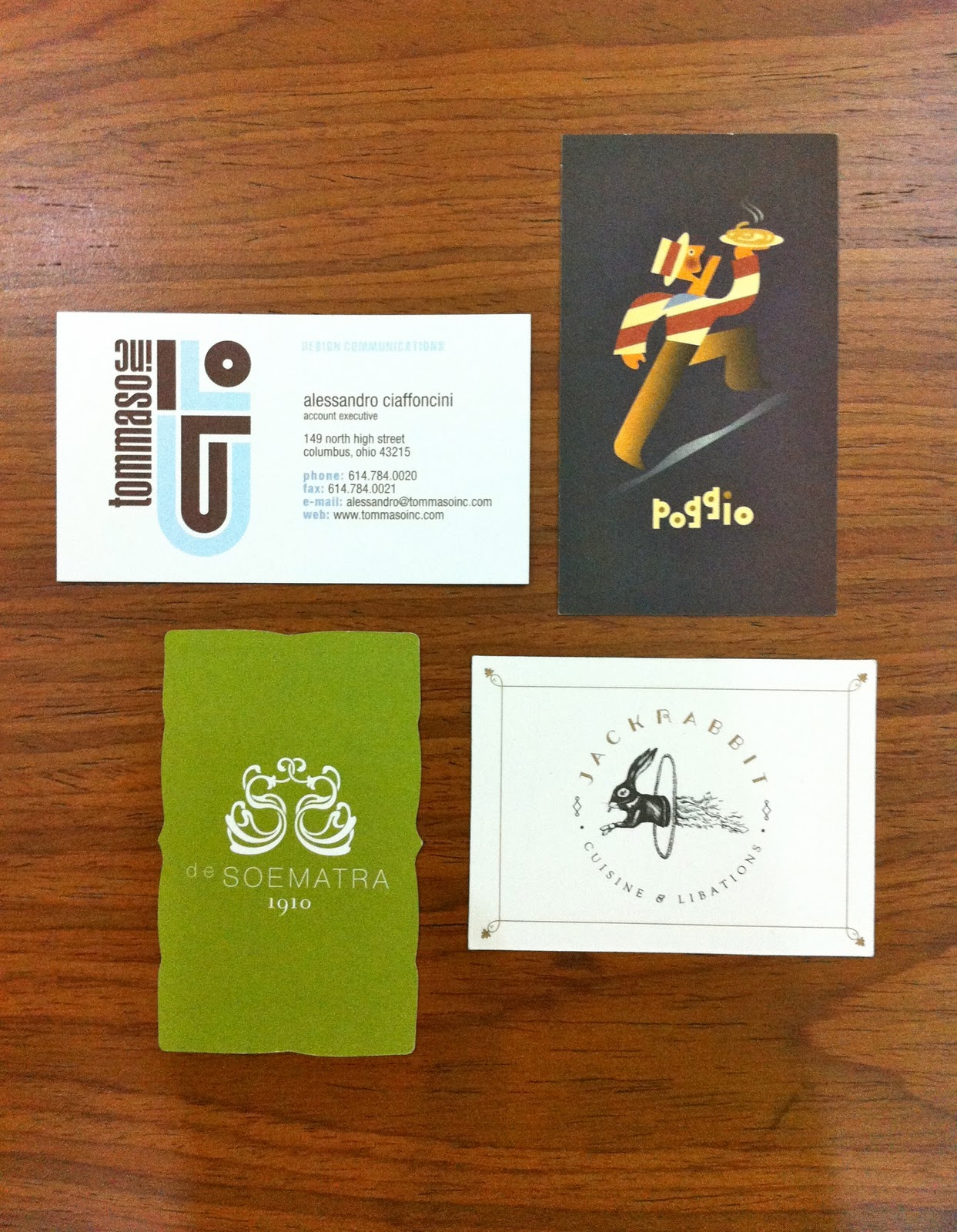 a m p m dezine Business Card Design Part 2