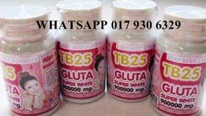 TB25 GLUTA SUPER WHITE 900000mg