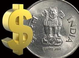 Rupee up by 15 paise to close at 44.84/85 against dollar