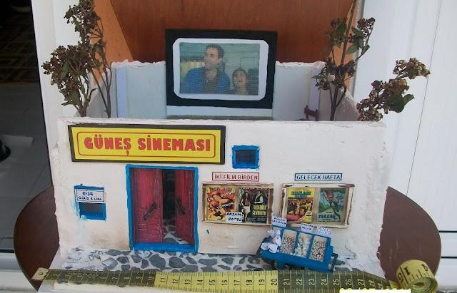 yazlık sinema minyatürü
