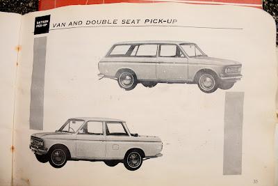 1968 Datsun Owner's Manual.