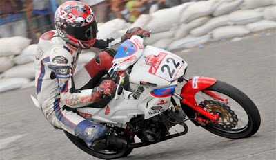 honda blade road race | modifikasi