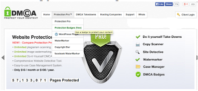 Widget DMCA Beserta Kegunaanya Untuk Blog