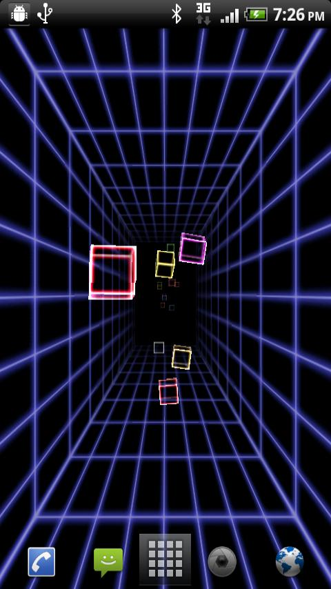 Best live wallpaper for android 2 3 source world - How to make 3d hologram wallpaper ...