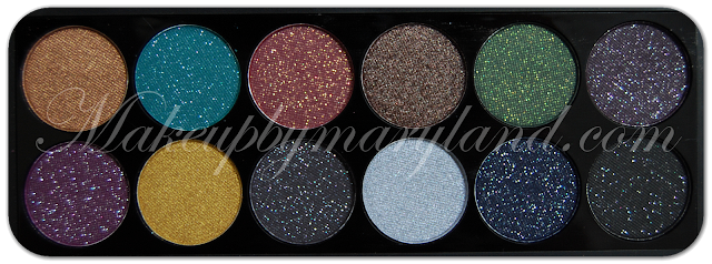 Chocolate-Penny-Blue-Spruce-Mulled Wine-Truffle-Mistletoe-Illusion-Festive-Gold-Ribbon-Glitz-Glamour-Tinsel-Twinkle-Starry-Night-sleek-makeup-eyeshadow-palette-paleta-sombras-maquillaje-low-cost-barato-alta-pigmetacion-metalizado-brillos-chispitas-too-faced-glitter-glue-spakle-2-xmas-limited-edition-christmas-2012