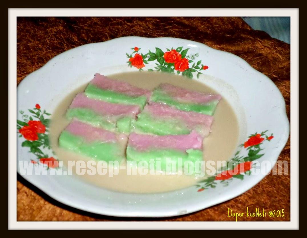 resep kue jongkong pelangi di dapur kusNeti @2015