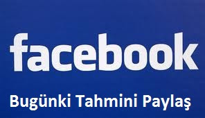 Facebook'da Paylaş