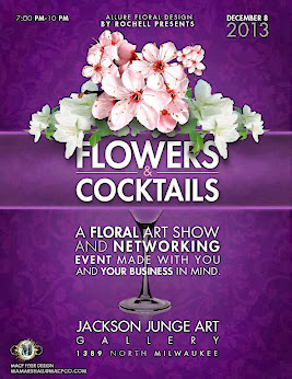 FLOWERS AND COCKTAILS