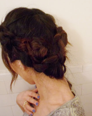 Hairstyles: HOW TO FRENCH BRAID WRAP AROUND UPDO ON LONG HAIR