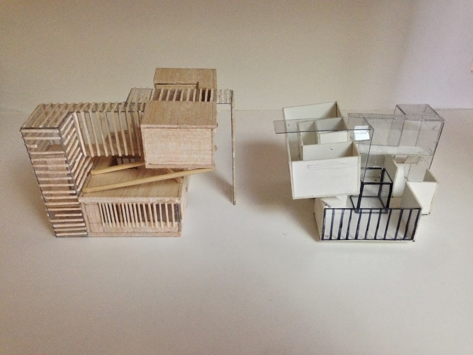 Mock Up Model Left And Study 1100 Scale