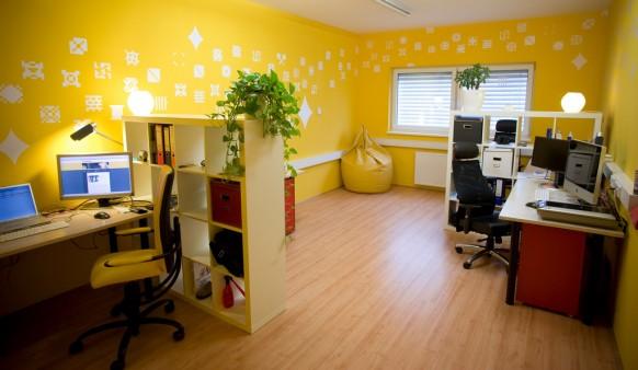 Pintar las paredes de una oficina ideas para decorar for Wallpaper home office ideas
