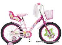 Sepeda Anak Wimcycle Barbie My2012 18 Inci