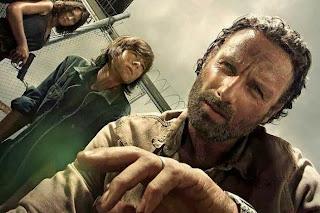Rick y su hijo: The Walking Dead