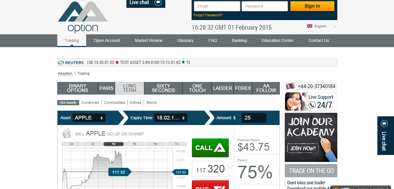Binary options 60 seconds strategy review