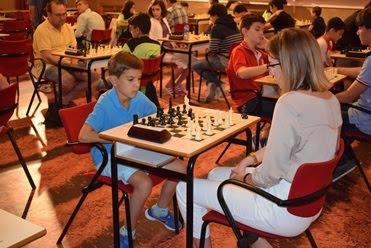 Fotos trofeo ajedrez en Mora 2017