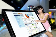 largest multi-touch screen in the world