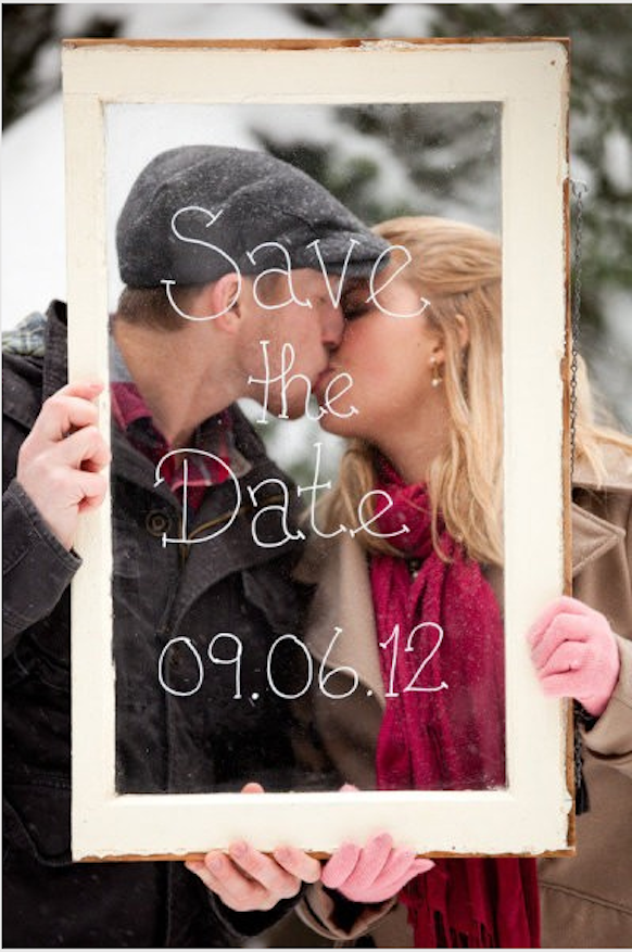 casar chic save the date s divertidos