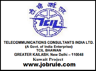 TCIL-India Latest Job Opening for Kuwait Project December 2014