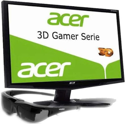 Acer GR235H 3D Gaming Monitor Review, Specs and Cost