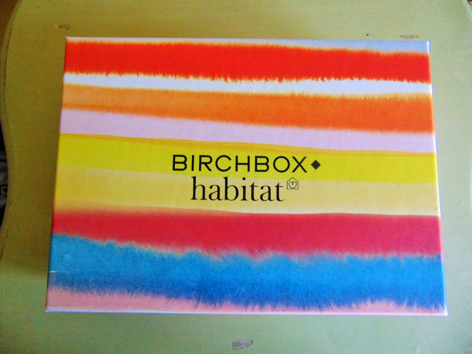 Birchbox review March habitat