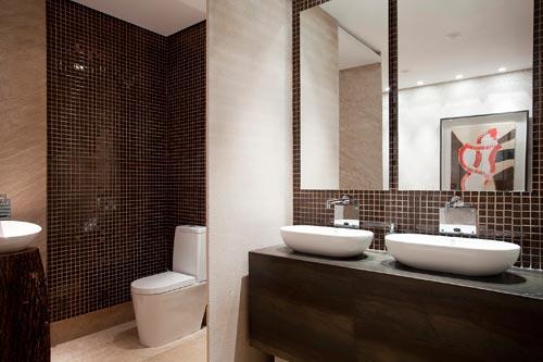 Cores para o Banheiro  Comprando Meu Apê  Comprando Meu Apê -> Banheiro Decorado Com Vaso Cinza