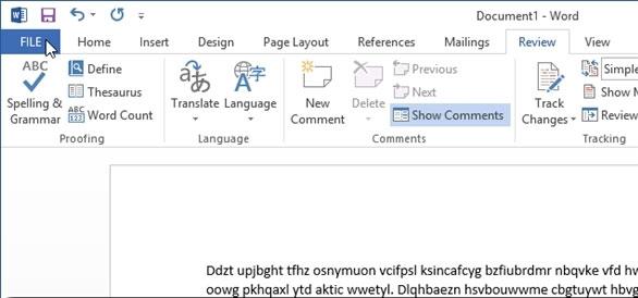Bỏ qua tùy chọn nơi lưu trữ tập tin Office 2013 1