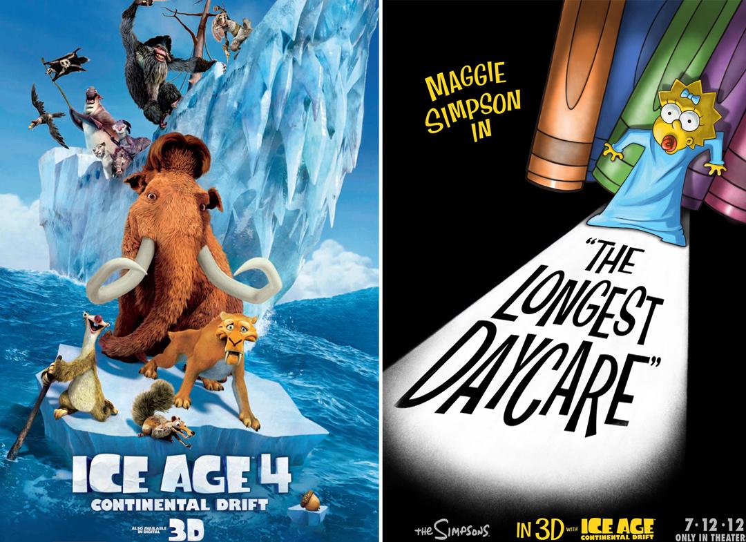 movie buffs reviews �ice age 4 continental drift