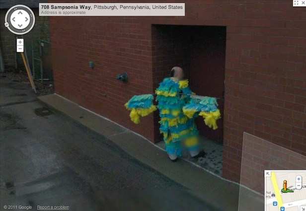 20 Funny Google Street View images - Damn..No more taking craps in ...