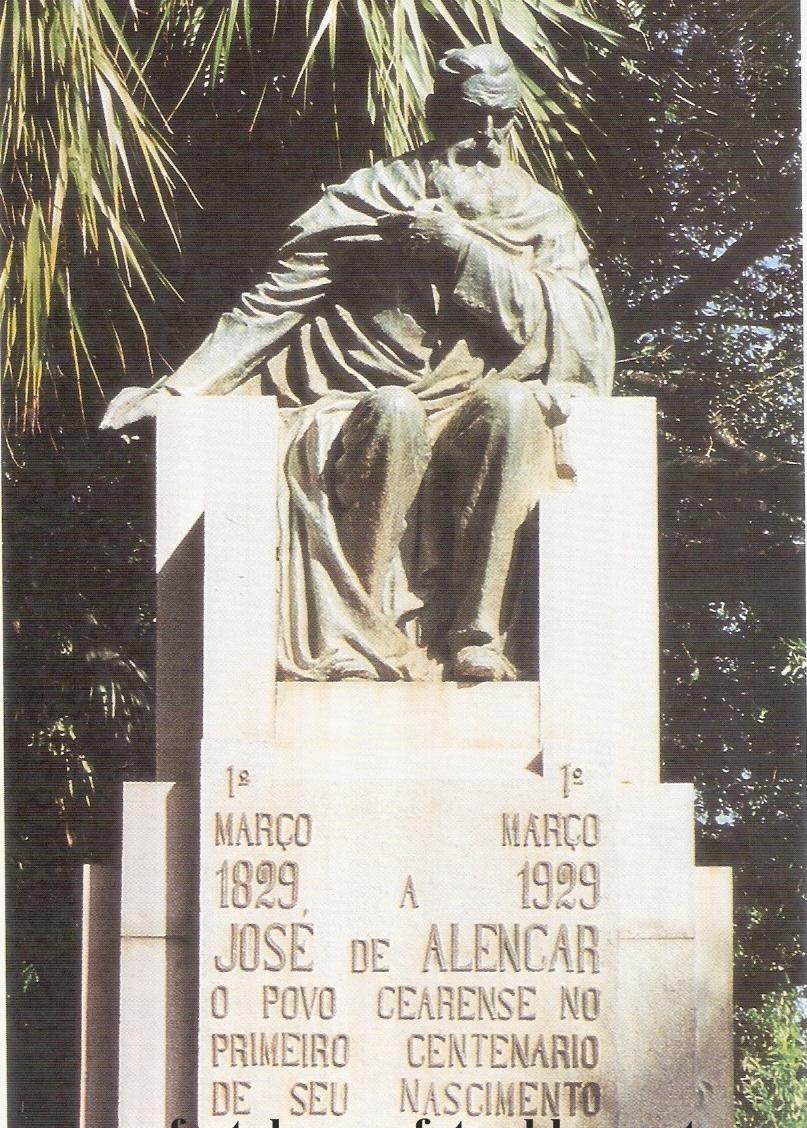Resultado de imagem para monumento de jose de alencar do ceara