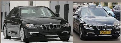 BMW Seri 3 menjadi Taksi