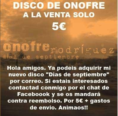 Disco de Onofre