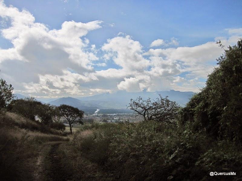 Cerro Patomo y Cerro Viejo vistos desde el Cerro Totoltepec