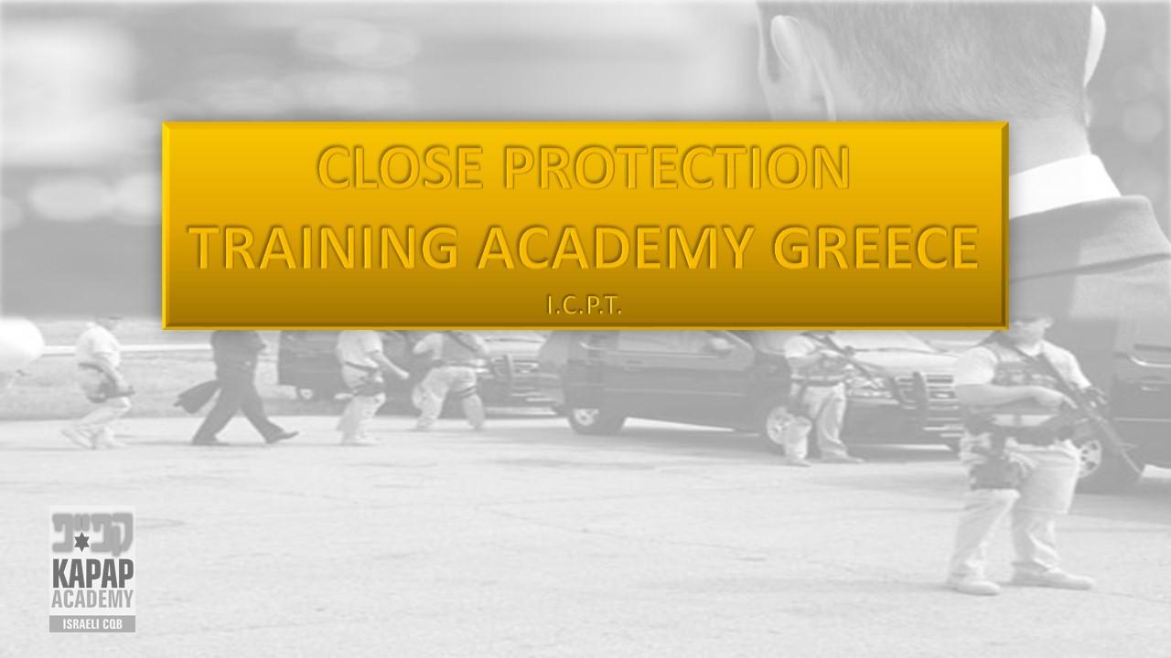 Close Protection Training Academy Greece