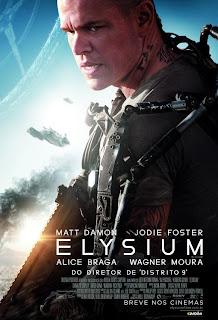 """Poster do filme """"Elysium"""""""