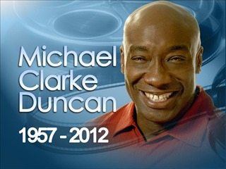 Faleceu Ontem O Ator Michael Clarke Duncan Rip John Coffey