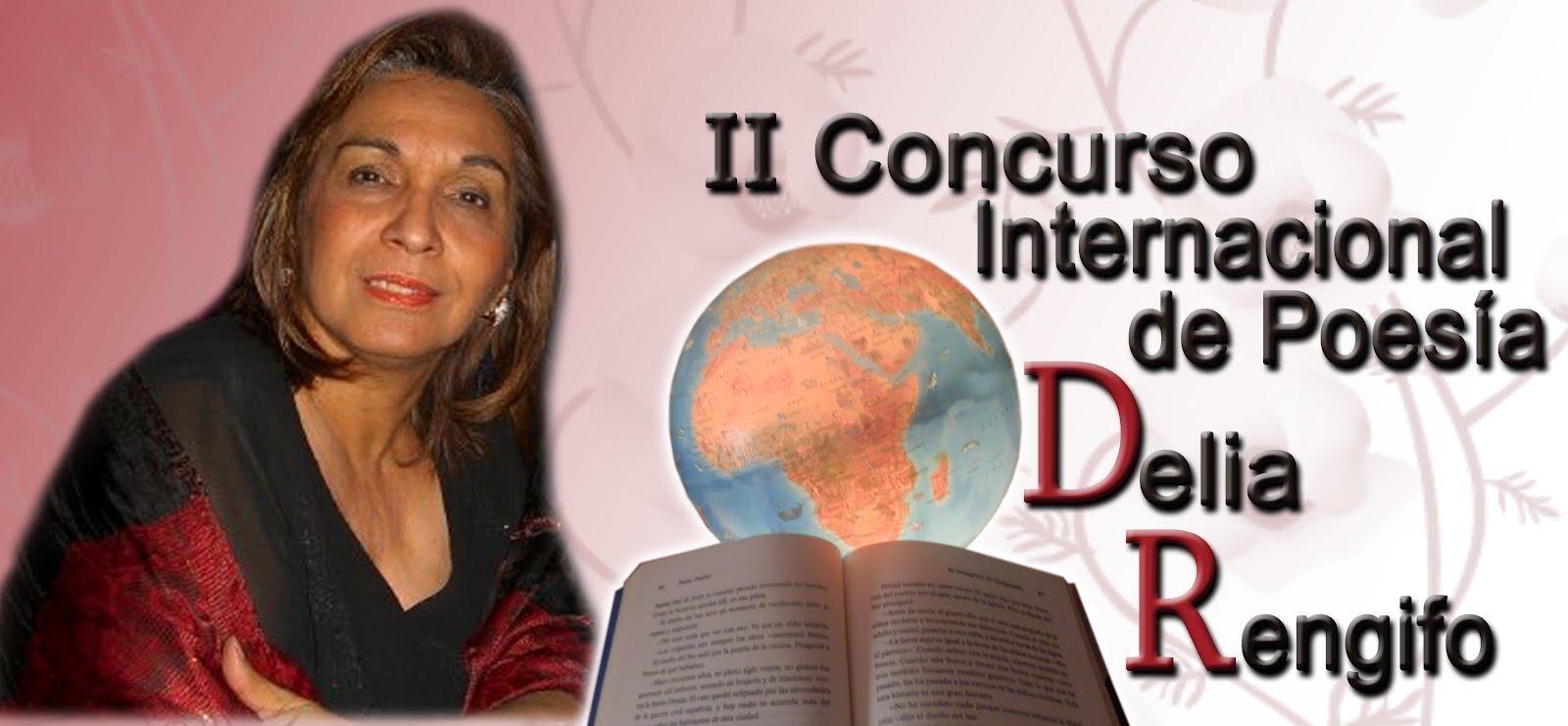 - II Concurso Internacional de Poesía Delia Rengifo