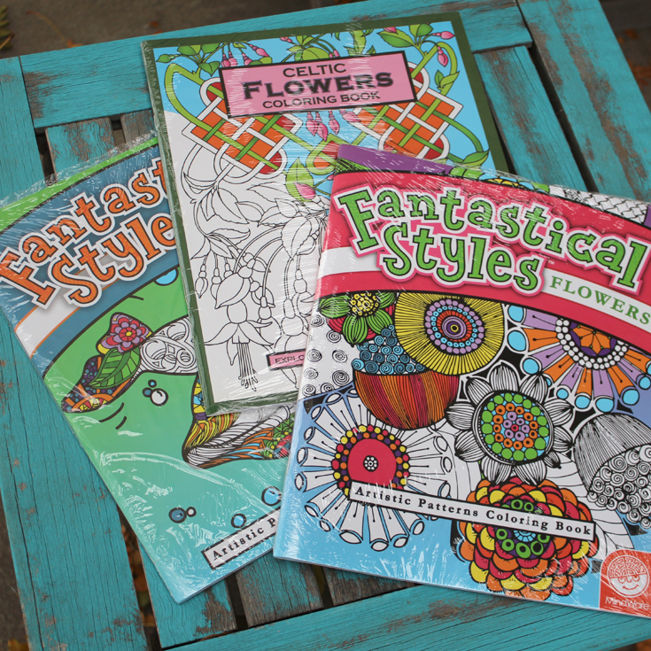Doodlecraft: Adult Coloring Books from Oriental Trading!
