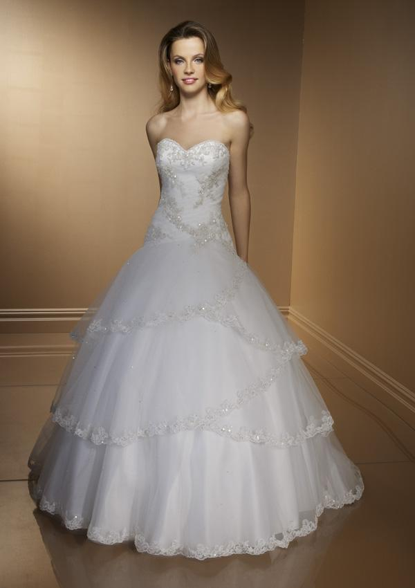Ball Gown Wedding Dresses Pictures : Ball gowns wonderful wedding dress for the brides