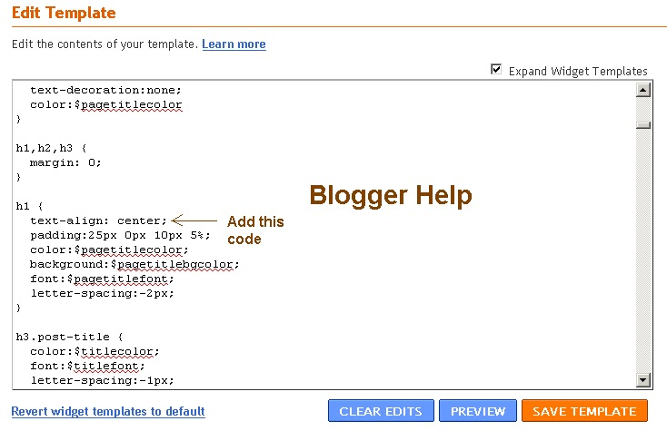 Blogger help google help bing yahoo blogger blog spot help for Template for blogger html code