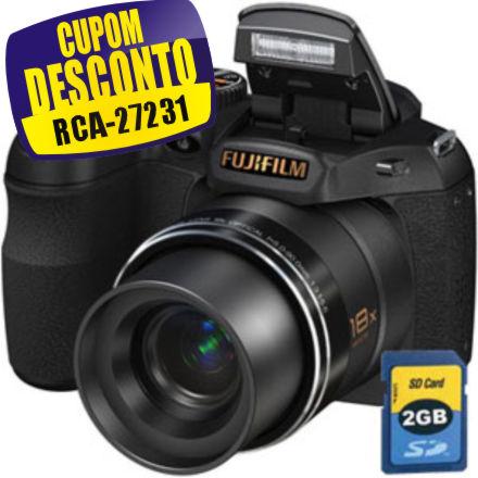 Cupom Efácil - Câmera Digital S2800HD 14MP Fuji