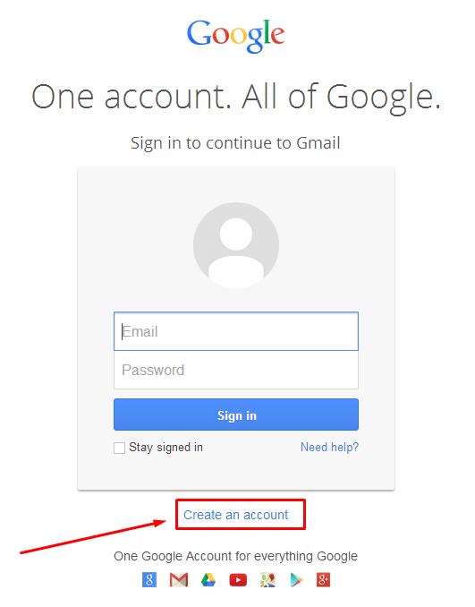 Cara membuat email baru gmail dan ymail ~ Global Tip