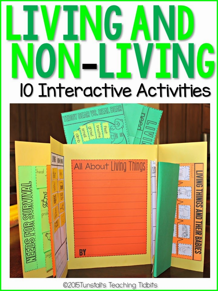 https://www.teacherspayteachers.com/Product/Living-and-Non-Living-Interactive-Activities-1775946