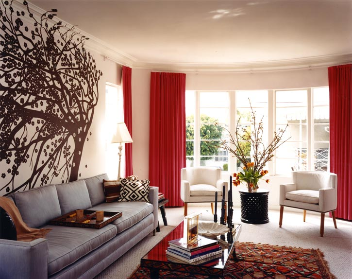 Amazing Living Room Curtains Ideas with Red 725 x 574 · 88 kB · jpeg