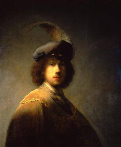 Rembrandt Van Rijn Self Portrait 1629 Art Now and Then: Isab...