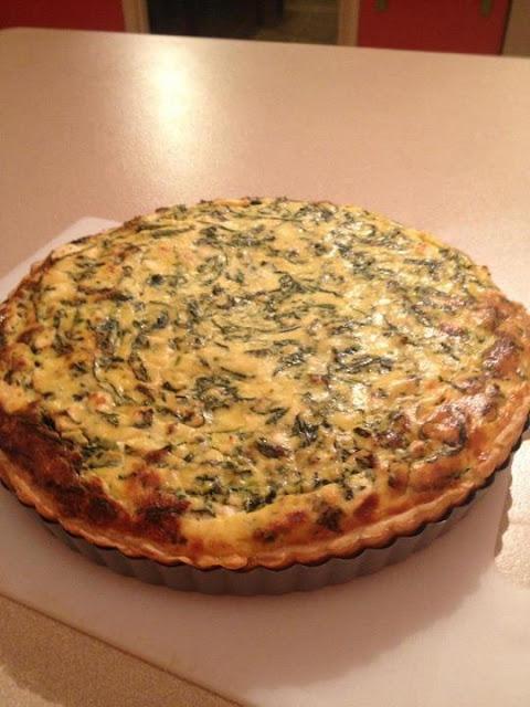 Spinach, Ricotta & Feta Tart – My Style Spanakopita