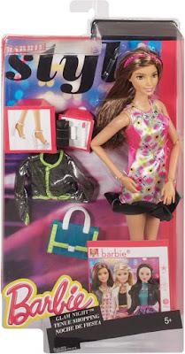 JUGUETES - BARBIE Style  Noche de Fiesta | Muñeca | Glam Night  Producto Oficial 2015 | Mattel | A partir de 5 años  Comprar en Amazon
